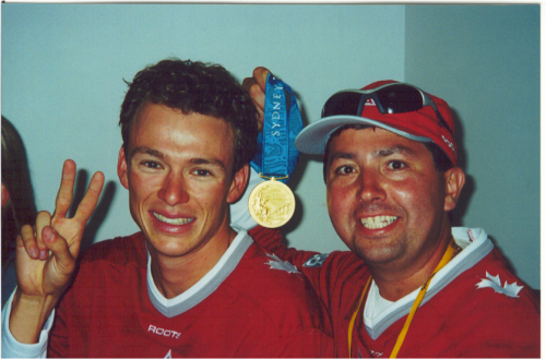 Simon and Barrie - Sydney 2000