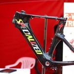 Fancy paint job at the Specialized Tent